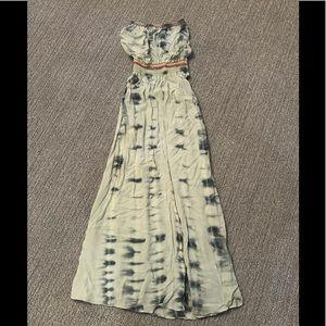 Gypsy 05 strapless maxi dress